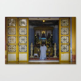 Hue Temple Doorway Canvas Print
