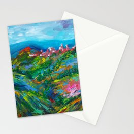 Vineyard In The Valley Stationery Cards
