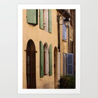 france Art Prints featuring France by dora-isa