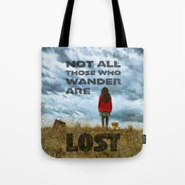 Not Lost - painting by Brian Vegas Tote Bag