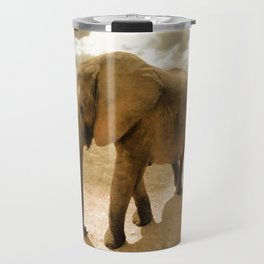 Wildlife big Elephant Travel Mug