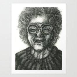 Grandmother Time Art Print