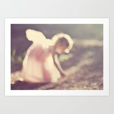 Light fairy Art Print