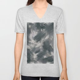 Dark misty look Unisex V-Neck