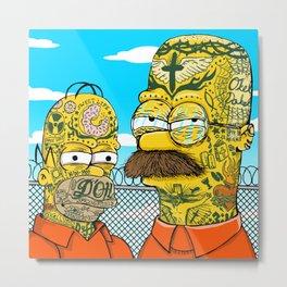 Prison Neighbors Metal Print