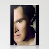 cumberbatch Stationery Cards featuring Benedict Cumberbatch by GinHans