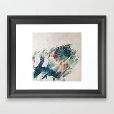 WATER/STRIPE Framed Art Print