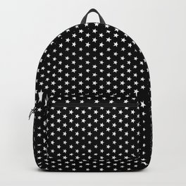 Black stars Backpack