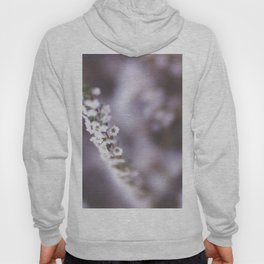 The Smallest White Flowers 02 Hoody