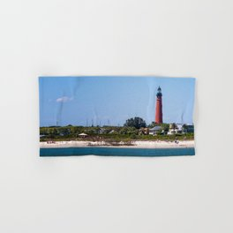 Sunny Day at Ponce Inlet Hand & Bath Towel