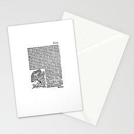 incognita servo Stationery Cards