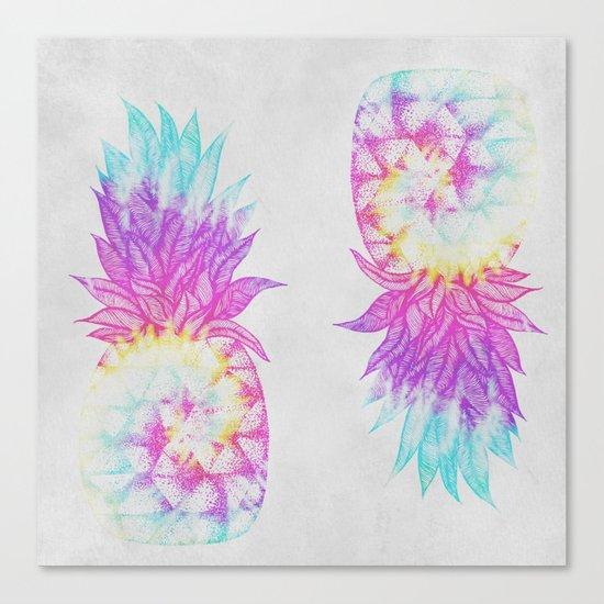Pineapple Paradise Canvas Print