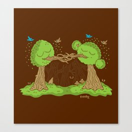 Treenagers Canvas Print