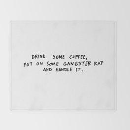 Coffee Throw Blanket