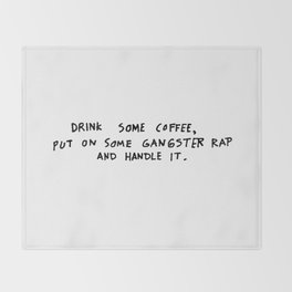 Coffee Throw Blanket