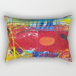 Abstract Landscape Rectangular Pillow