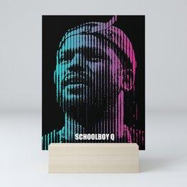 Schoolboy Q  Mini Art Print