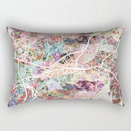 Sylva map North Carolina Rectangular Pillow