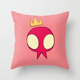 dont get real sad Throw Pillow