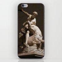 hercules iPhone & iPod Skins featuring Hercules Killing the Centaur by blue0burak