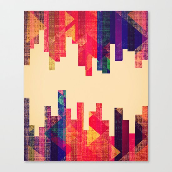 Night Visions: Textiles Canvas Print