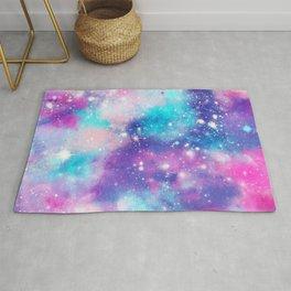 Pretty Pastel Galaxy Rug