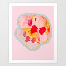 Twin Ducks Art Print