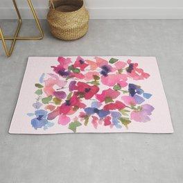 Monet's Rose Garden Rug