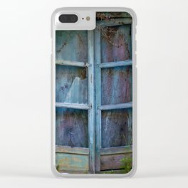 Abandoned Sicilian House in Noto Clear iPhone Case