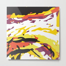 Abstract Pattern 5 Metal Print