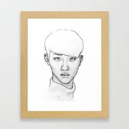 Do Kyungsoo Framed Art Print