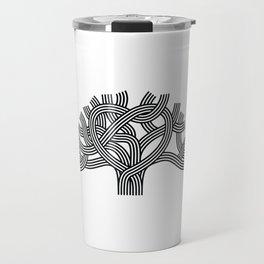 Oakland Love Tree (Black) Travel Mug