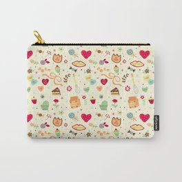 Cake Pattern Carry-All Pouch