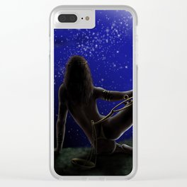 libra-zodiac Clear iPhone Case