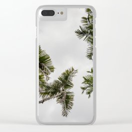 Tropical Delight Clear iPhone Case