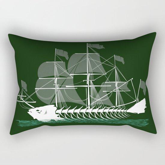 Cutter Fish Rectangular Pillow