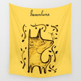 happy moment Wall Tapestry