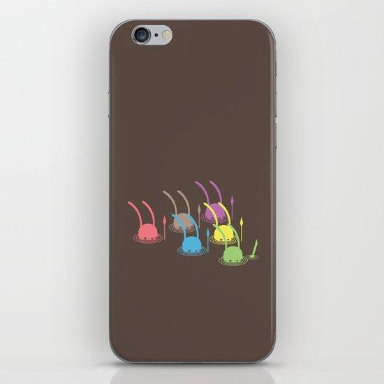 NIGHT INVADERS CROSSING - C V iPhone & iPod Skin