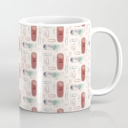 Erasers and paper clips Coffee Mug