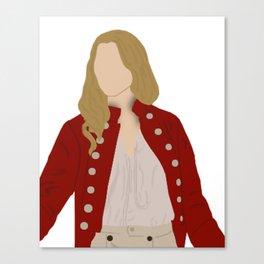 Elizabeth Swann Portrait Canvas Print