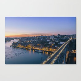 Porto from Serra do Pilar. Canvas Print