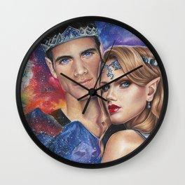 A Court of Mist and Fury Wall Clock