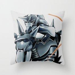 Alphonsee Elric Throw Pillow