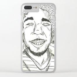 Kendrick Lamar Clear iPhone Case