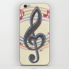Love Note iPhone & iPod Skin