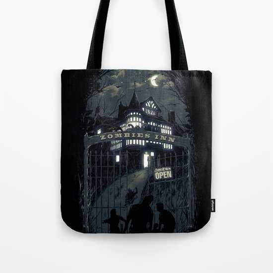 Zombies Inn Tote Bag