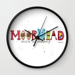 Welcome Coach Joe Moorhead! Wall Clock