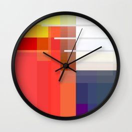Abstract Composition 647 Wall Clock