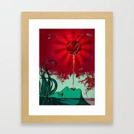 Falling Slowly Framed Art Print