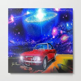 Cosmic Corvair Metal Print